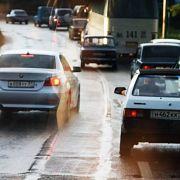 Аварии по причине выезда на полосу встречного движения