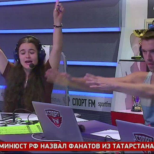 Татьяна Котова в гостях у Спорт FM. 09.08.18