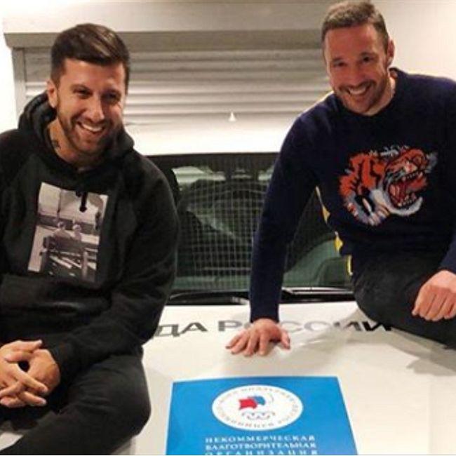 Ковальчук продал олимпийский BMW за два часа