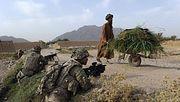 Американское военное присутствие в Афганистане