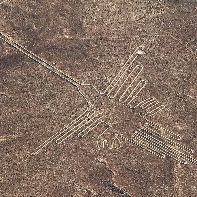 Перу. Пустыня Наска