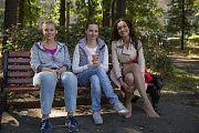 Во время показа нового сезона сериала «Мамочки» актеры общались со зрителями в чате