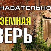 Подземная дверь дома в Сергиевом Посаде (Познавательное ТВ, Артём Войтенков)