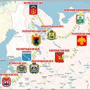 Серебряное ожерелье России