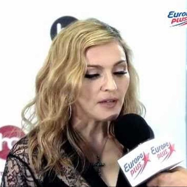Эксклюзивное интервью Мадонны для Европы Плюс