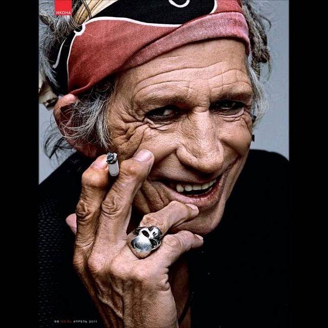 Кит Ричардс. Краткая биография легенды рок-н-ролла.