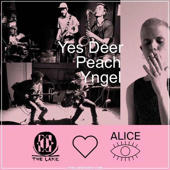 The Lake <3 Alice: Yngel // Peach // Yes Deer