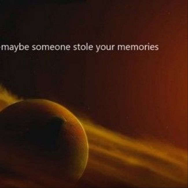 079 : maybe someone stole your memories