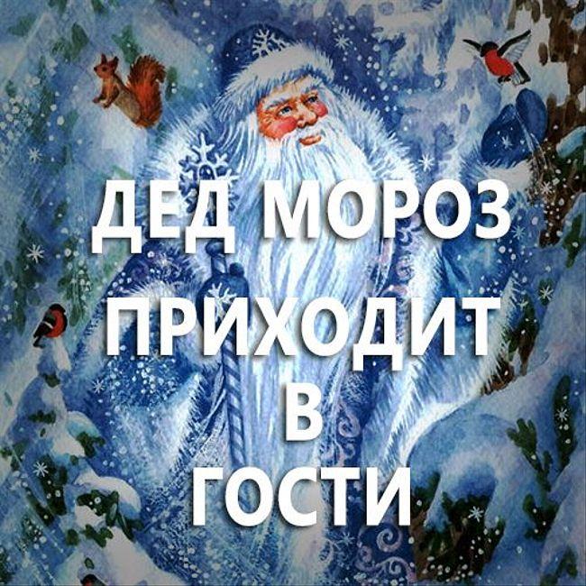 Дед Мороз приходит вгости. (82)