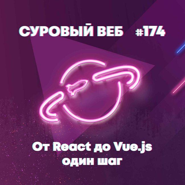 [Подкаст #174] От React до Vue.js один шаг — Суровый веб #174