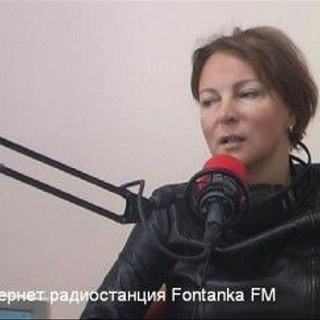 Анастасия Курехина вутреннем эфире рассказывает опредстоящем концерте памяти Сергея Курехина (308)