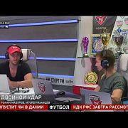 Тайбоксер и кикбоксер Артем Левин в гостях у Двойного удара. 16.04.18