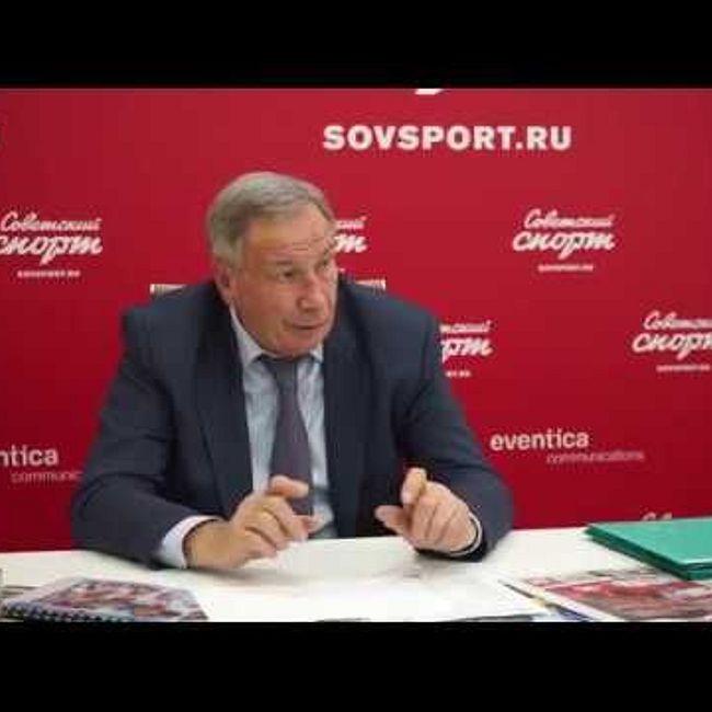 Шамиль Тарпищев в гостях у «Советского спорта»