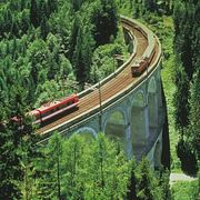 Два примечательных маршрута поездов в Европе