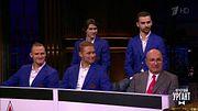 И.Есмантович, хоккеисты М.Мамин, И.Телегин, С.Андронов и И.Сорокин о победе в Кубке Гагарина.