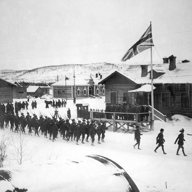 Сто лет назад англичане высадились в Мурманске, началась открытая интервенция против России