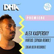 Premiere: Alex Kaspersky - Virtus (Spada Remix) [Dear Deer Records]