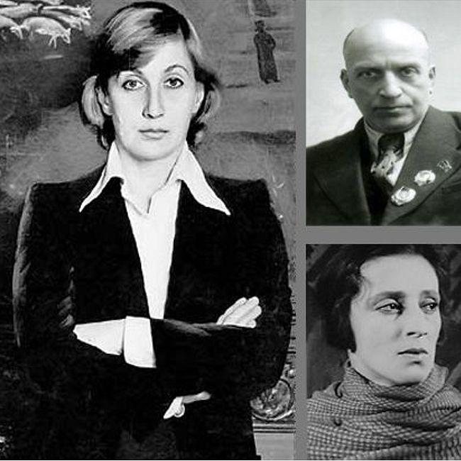 Семейные истории - Михаил, Софико Чиаурели и Верико Анджапаридзе