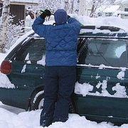 Как правильно очищать автомобиль от снега