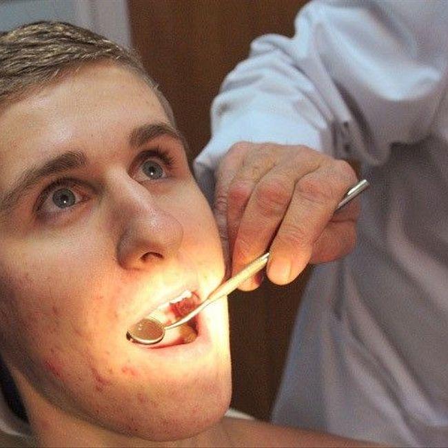Чтоб зуб на зуб попадал!