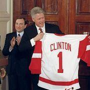 Президенты США и хоккей