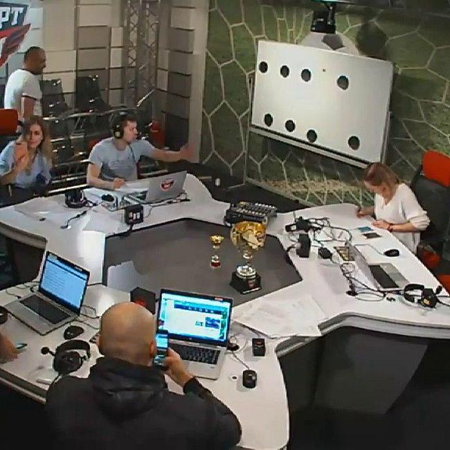 Боксеры Дмитрий Бивол и Сергей Кузьмин в гостях у Двойного удара. 20.11.2017