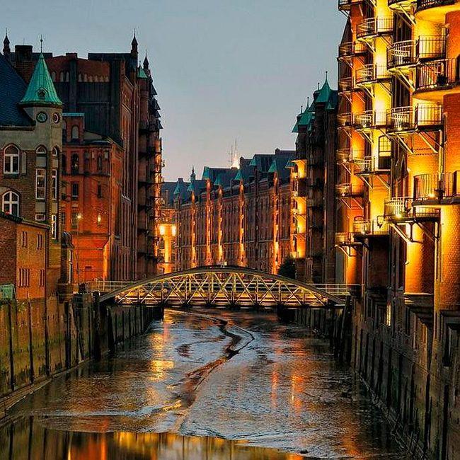 Германия. Гамбург — Порт Без Моря