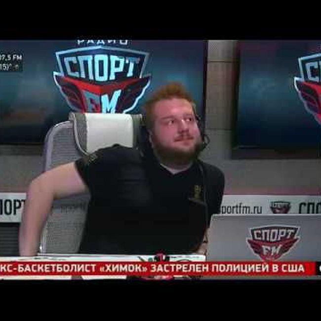 Эмоции ведущих Спорт FM от матча Россия - Хорватия и пенальти Смолова