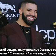 Drake побил рекорд на церемонии Billboard, собрав 12 наград - Май 02, 2019