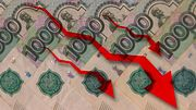 Карающая рука санкций рубит голову рублю