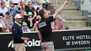 Нацист попытался сорвать теннисный матч в Швеции