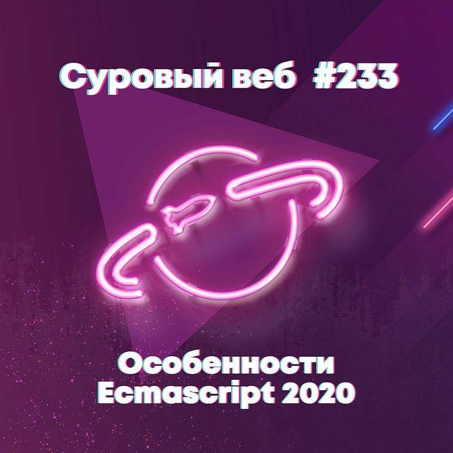 [#233] Особенности Ecmascript 2020