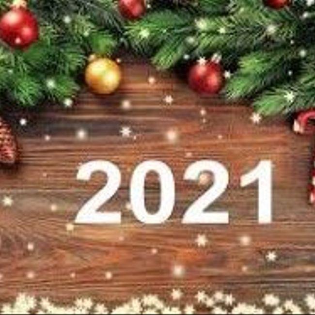 С Наступающим Новым 2021-м Годом!