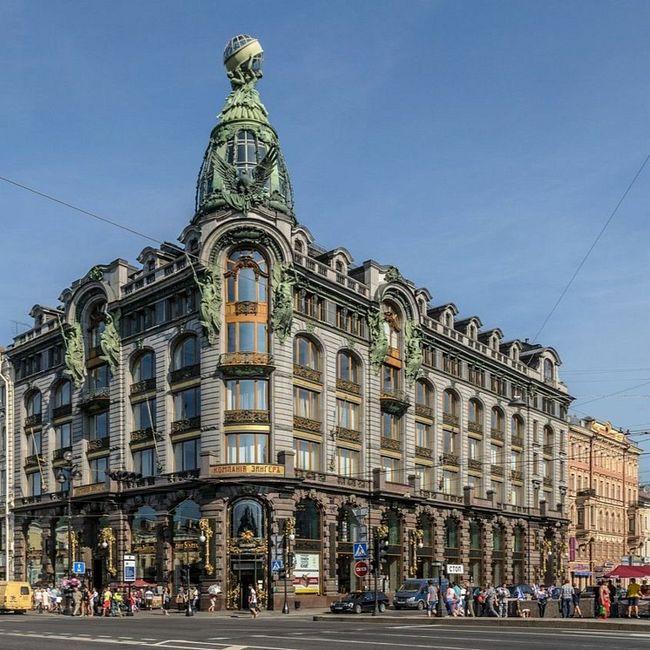 История одного здания: Дом Зингера в Петербурге
