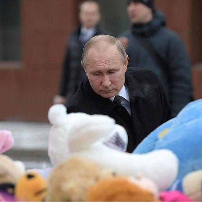 Владимир Путин: «Не плакать, а реветь хочется»