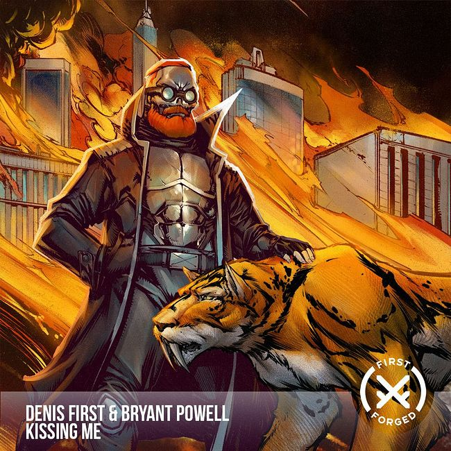 Denis First, Bryant Powell - Kissing Me [Radio Mix]