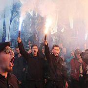 Нацики сегодня масштабно празднуют в Киеве