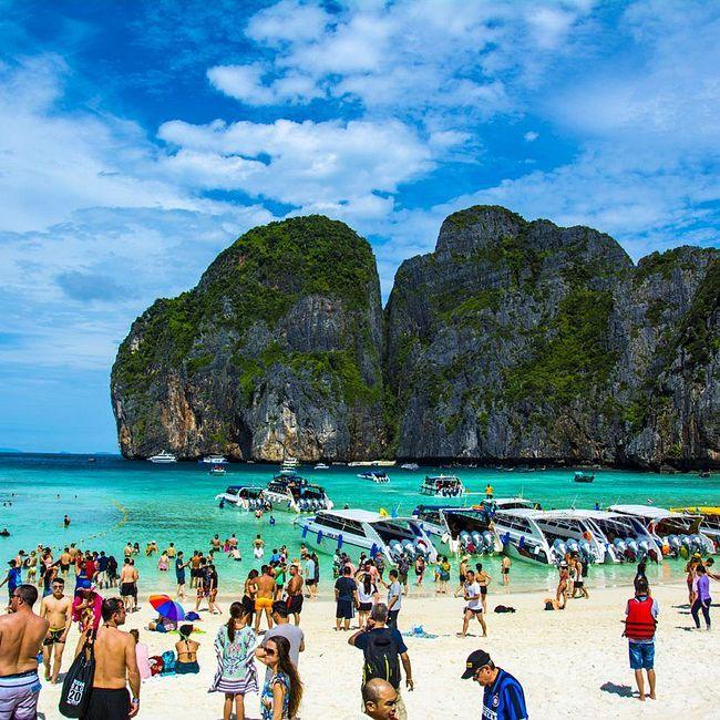 зачем закроют знаменитый тайский пляж Майя-Бэй