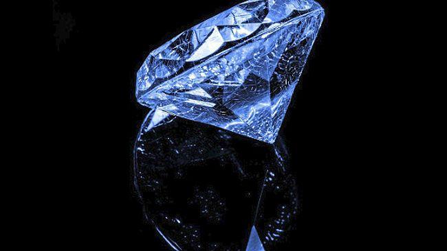 Была когда-то планетка в солнечной системе, в которой росли алмазы