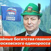 Тайные богатства главного московского единоросса