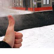 Росавтодор разрешил укладывать асфальт в дождь, мороз и снегопад