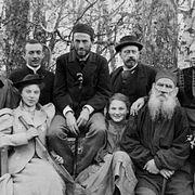 1. Лев Толстой и семья