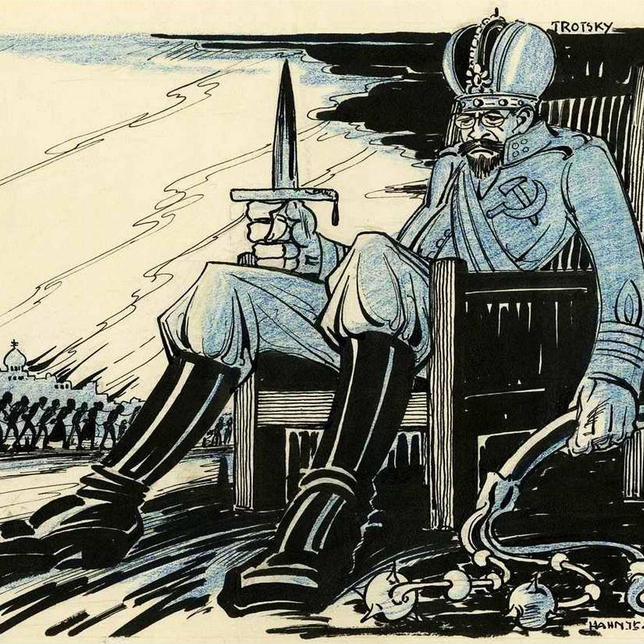 Лев Троцкий - русский государственник или предводитель масонов? (Леонид Млечин)