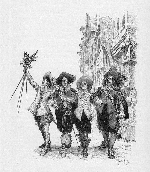 Три мушкетёра