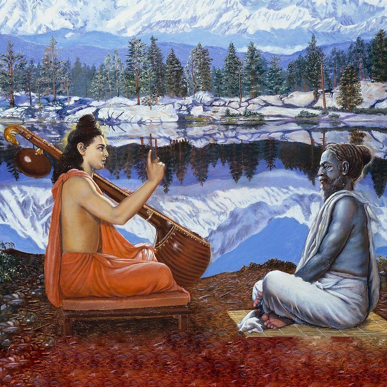Шримад Бхагаватам с музыкой